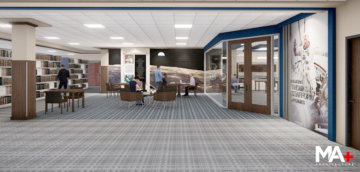 2nd floor renovations are underway! More information …